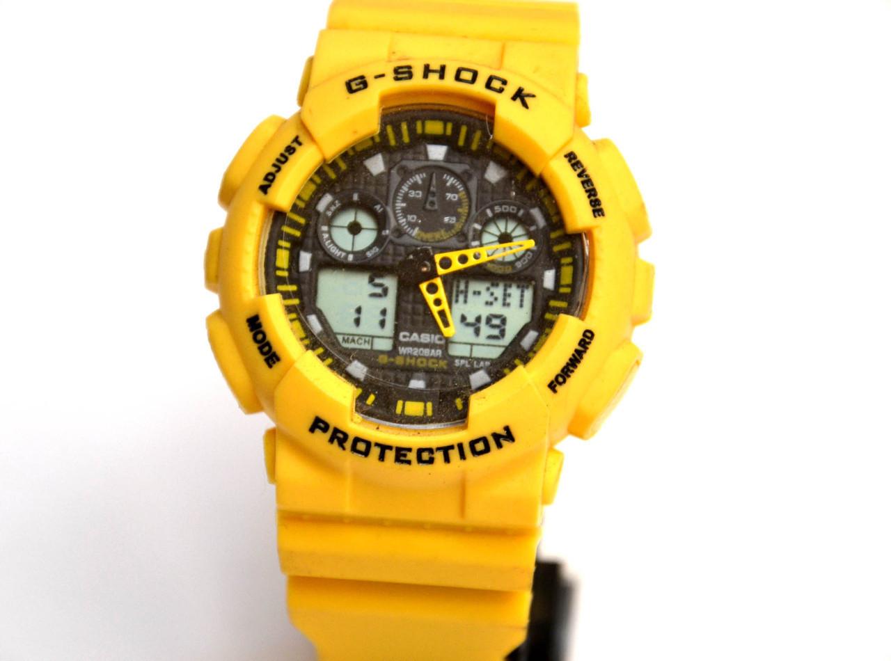 Наручные часы  WR20M Желтые