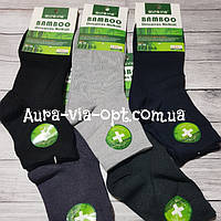 Aura.via. Средние мужские носки Бамбук.