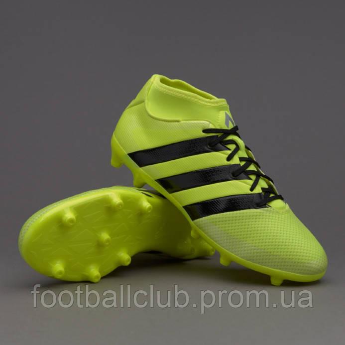 purchase cheap 9597b f252d Бутсы Adidas Ace 16.3 Primemesh FG AQ3439