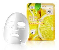 Тканевая маска 3W CLINIC Fresh Mask Sheet Lemon