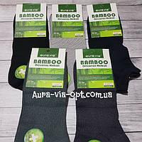 Aura.via. Короткие мужские носки Бамбук.