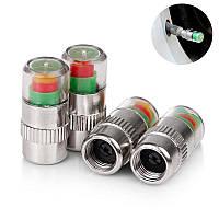 4x Колпачок - индикатор, датчик давления шин, 2.4 bar