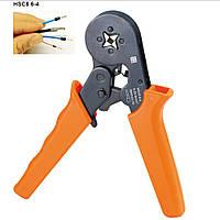 HSC8 6-4 кримпер клещи для обжима опрессовки втулочных наконечников 0.25-6мм2 23-10 AWG