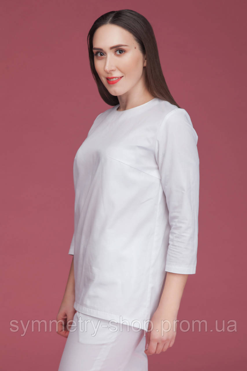 T003 Медицинская блуза белая