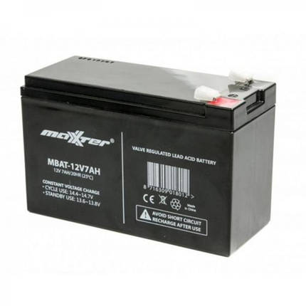 Аккумуляторная батарея 12V 7 ah , фото 2
