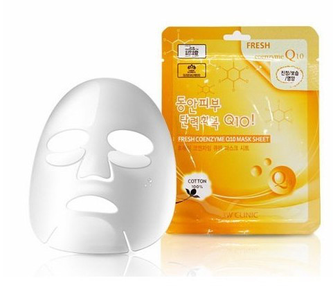 Тканевая маска 3W CLINIC Fresh Mask Sheet Coenzyme Q10