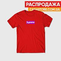 Футболка | Supreme Logo Box | Размер M | Мужская