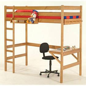Ліжко-горище з робочою зоною Соло-1