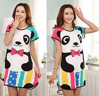Оригинальная ночнушка. Ночная рубашка .Домашнее платье. Туника для дома. Разные цвета.