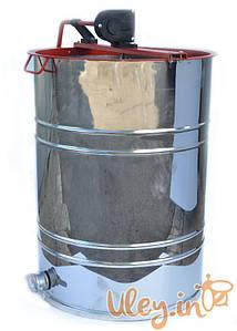 Медогонка Алюмоцинковая, с поворотом кассет 4-х рамочная под рамку «РУТА 230 мм»