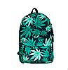 Новинка !!! Рюкзак школьный городской марихуана листья конопля