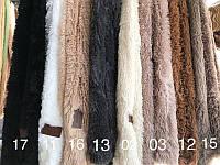 Покривало - плед с длинным ворсом Пушистый плед из искусственного меха Разные цвета