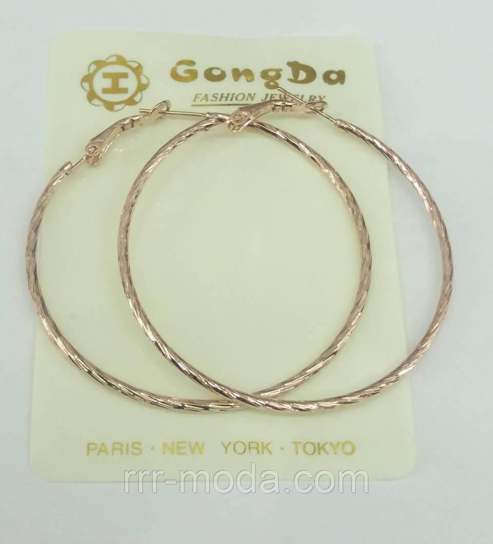 Серьги - кольца оптом под золото по 8 грн. 459 - Бижутерия оптом «R. R. R. c29f58f615d