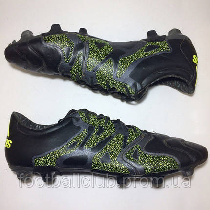 Adidas X 15.2 FG/AG Leather, фото 2