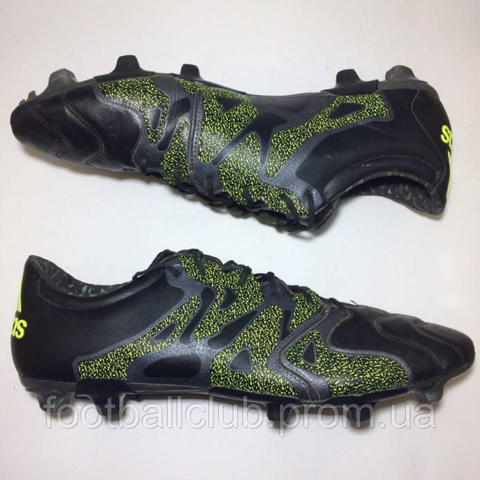 7aa9072b Бутсы Adidas X 15.2 FG/AG Leather - PRODIRECT - футбольный СУПЕРмаркет в  Чернигове