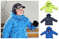 Яркая демисезонная куртка для мальчика. Цвета в ассортименте