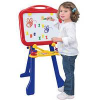 Мольбер магнитный детский переносной 4 в 1, съемная доска, Crayola , фото 1