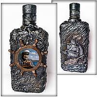 Декоративная бутылка в подарок мужчине моряку Сувениры морской тематики