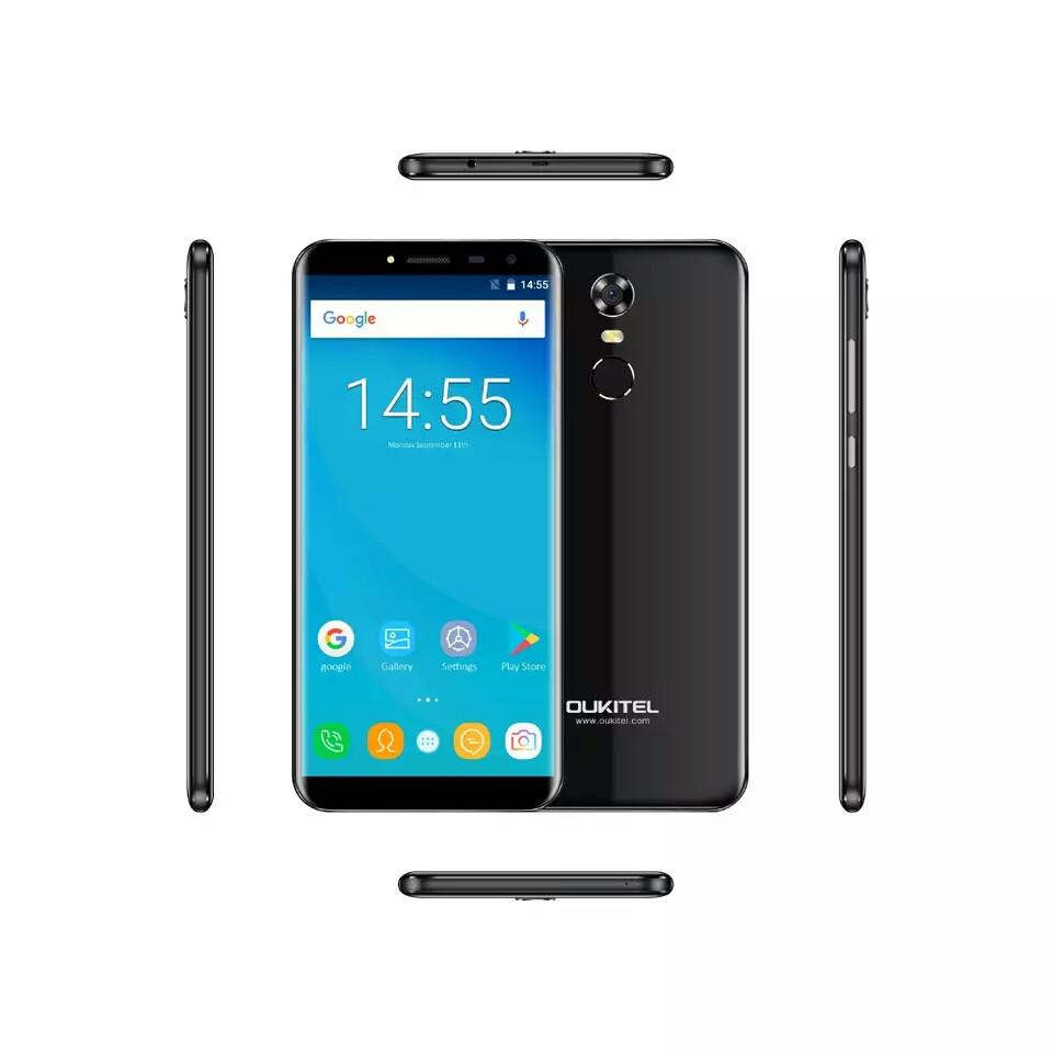 Смартфон Oukitel C8 Black  2/16Gb + чехол