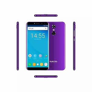 Смартфон Oukitel C8 Purple (фиолетовый)  2/16Gb + чехол, фото 2