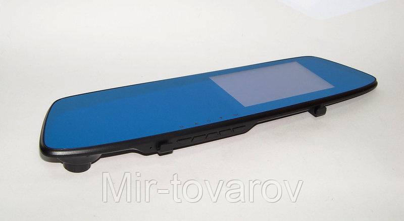 """Видеорегистратор Full HD, зеркало заднего вида + доп. камера для парковки Vehicle Blackbox DVR T605 экран 4.5"""""""