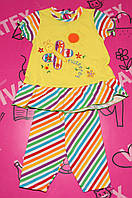 Детский летний комплект Бабочка 111276 стрейч
