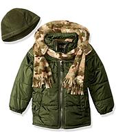Куртка iXtreme с шарфом и шапкой для мальчика от 2 до 4 лет