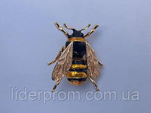 """Брошь - """"Пчела """" сувенирная. Реалистичная и нарядная., фото 2"""
