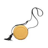 Сумка женская маленькая круглая Micocah Yellow