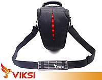 Сумка для фотоаппарата Canon, Sony, Nikon Фото-сумка Zippy, чехол для фотоаппаратов DSLR, под большой обєктив