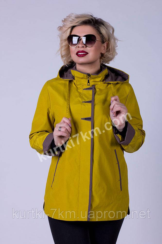 cb5cb976 Ветровка красивая большого размера Poem №8809 - Женские куртки, пуховики -  Куртки 7км в