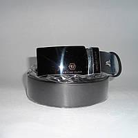 Мужской кожаный ремень PHILIPP PLEIN черного цвета ETR-246639, фото 1