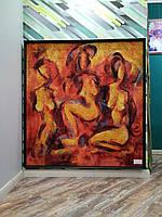 "Гобелен в раме ""Африка"" h 157 x 150см"