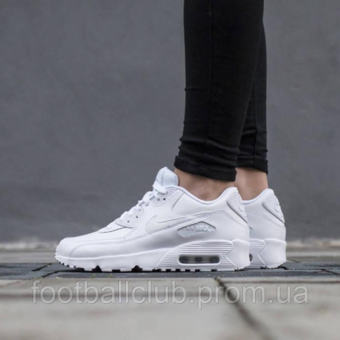 Кроссовки Nike Air Max 90 GS White 833412 100