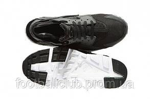 Nike Huarache GS Black/White 654275-011, фото 3