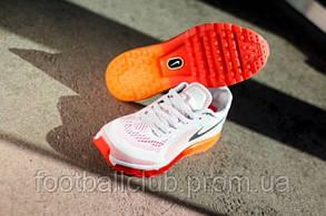 Nike Air Max 2014 Grey/Orange 621078-006, фото 2