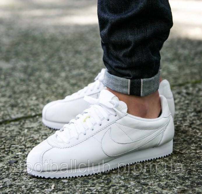 Nike Classic Cortez Prem White 807480-100