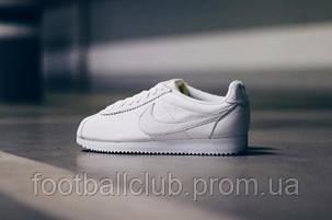 Nike Classic Cortez Prem White 807480-100, фото 2