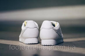 Nike Classic Cortez Prem White 807480-100, фото 3