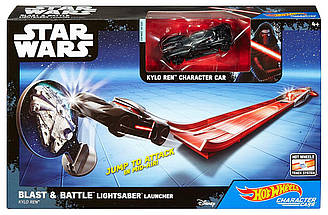 Трек Хот Вилс Звездные войны Hot Wheels Star Wars Lightsaber Blast & Battle