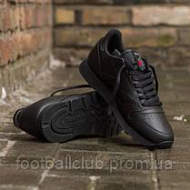 Reebok Classic Leather Black 2267, фото 3