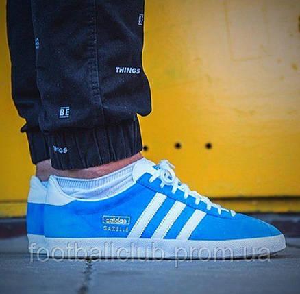Кроссовки Adidas Gazelle OG Blue G16183, фото 2