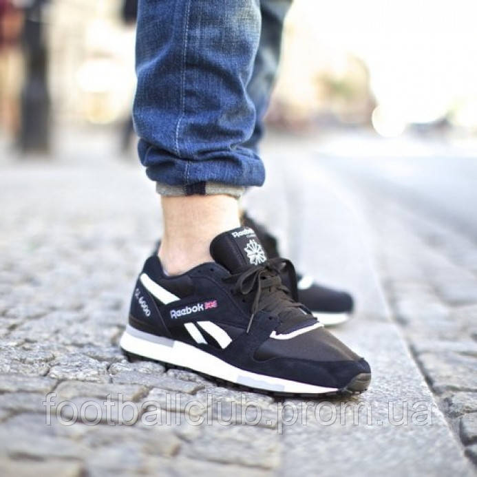 Reebok GL 6000 Black/White V44751