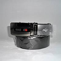 Мужской кожаный ремень Тommy hilfiger черного цвета ETR-216090, фото 1