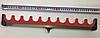 Фидерная подставка для удилищ (мягкая) на 10 ячеек - 50 см