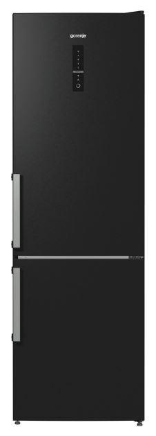 Двухкамерный холодильник Gorenje NRK6192MBK