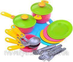 Посудка Набор Посуды Детская Посудка Игрушечная Технок, 1677, 002497
