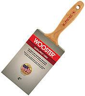 Кисть малярная прямая профессиональная Wooster 10 см, фото 1