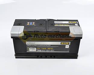 АКБ L5 110AH - / + на Renault Master III 2010-> - Renault (Оригинал) - 7711423287