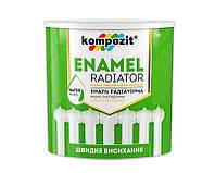 Эмаль акриловая KOMPOZIT РАДIАТОРНА для радиаторов отопления 3л